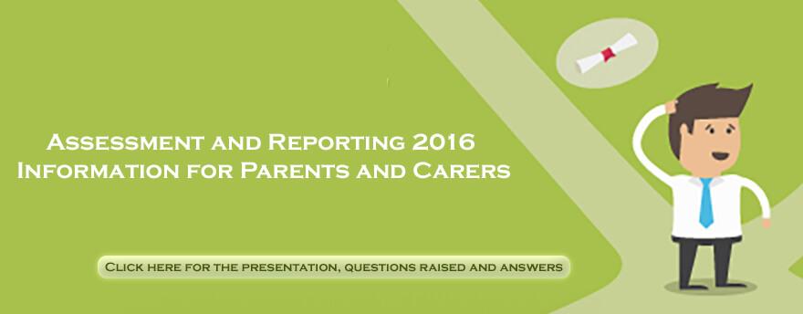 Assessment Reporting