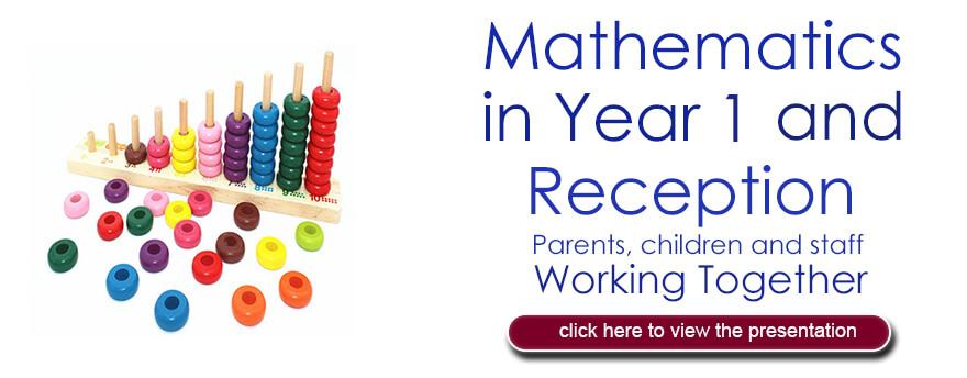 Maths for Yr1
