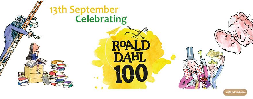 100 years Roald Dahl