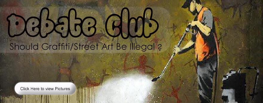 debate club - grafitti