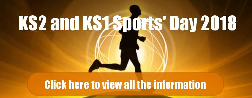 KS2 and ks1 sports day